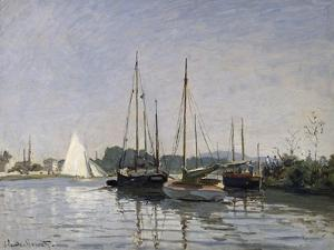 Pleasure Boats, Argenteuil, c.1872-3 by Claude Monet