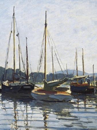 Pleasure Boats, Argenteuil by Claude Monet