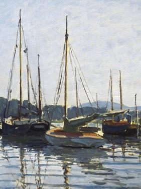 Pleasure Boats, Argenteuil by Claude Monet