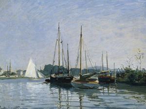 Pleasure Boats Near Argenteuil by Claude Monet