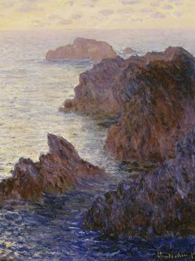 Point De Rochers, Port-Goulphar by Claude Monet