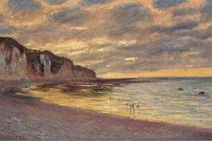 Pointe De L'Ailly at Low Tide, 1882 by Claude Monet