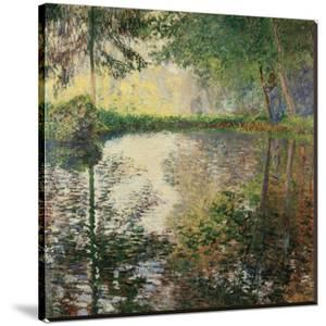 Pond at Montgeron, c.1876 by Claude Monet