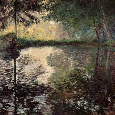 Pond at Montgeron, C1876 by Claude Monet