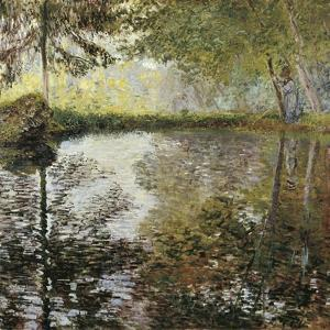 Pond at Montgeron by Claude Monet