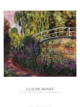 Pont Japonais-Bassin aux Nympheas by Claude Monet