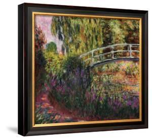 Pont Japonais-Bassin aux Nympheas by Claude Monet