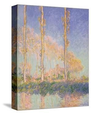 Poplars (Autumn), 1891 by Claude Monet