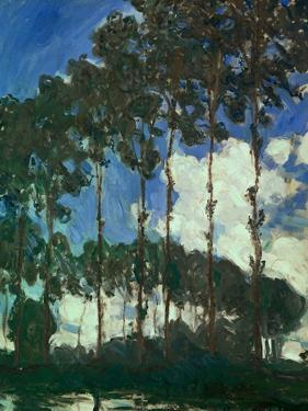 Poplars on the Epte, 1891 by Claude Monet