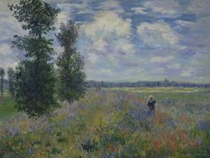 Poppies (Near Argenteuil) 1873 by Claude Monet