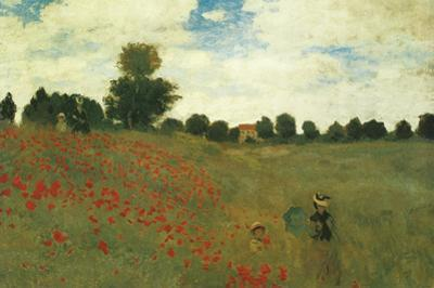 Poppies by Claude Monet