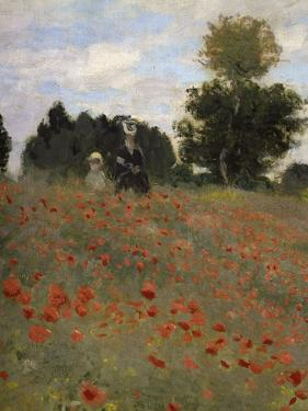 Poppy Field at Argenteuil, c.1873 by Claude Monet