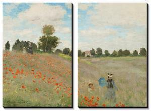 Poppy Field, Near Argenteuil, c.1873 by Claude Monet