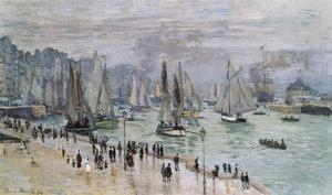 Port De Mer (Le Havre), 1874 by Claude Monet