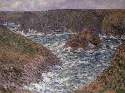 Port Domois at Belle Ile, 1886 by Claude Monet