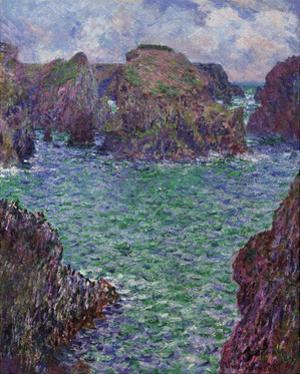 Port-Goulphar, Belle-Ile, 1887 by Claude Monet