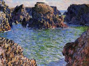 Port-Goulphar, Belle-Ile, Brittany, 1886 by Claude Monet