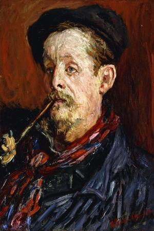 Portrait of Leon Peltier, 1879 by Claude Monet