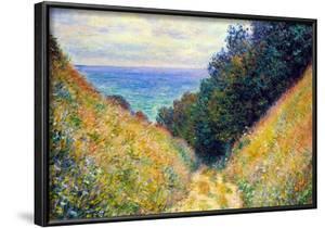 Claude Monet Pourville #1 Art Print Poster