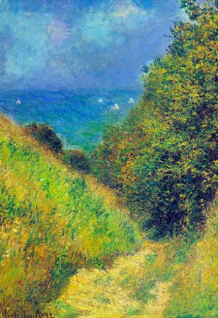 Claude Monet Pourville #2 Art Print Poster