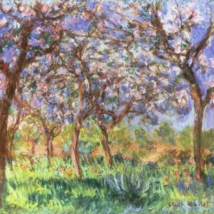 Printemps a Giverny, 1900 by Claude Monet