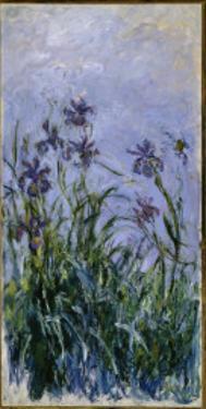 Purple Irises, 1914-17 by Claude Monet