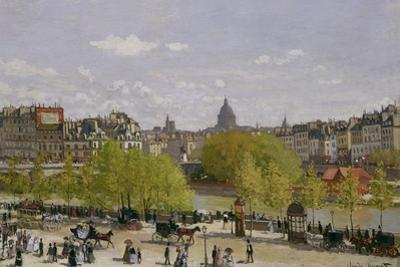 Quai Du Louvre, Paris, 1866-67 by Claude Monet