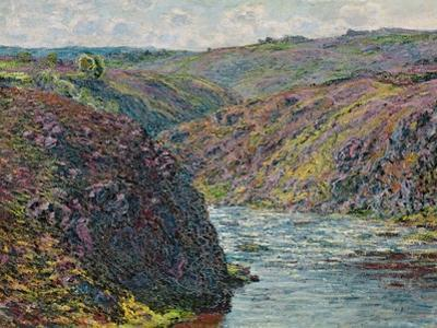 Ravines of the Creuse at the End of the Day, 1889 by Claude Monet