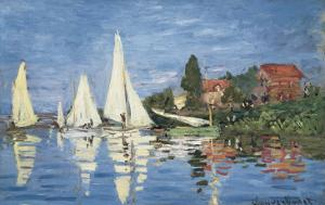 Regatta at Argenteuil by Claude Monet