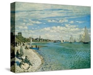 Regatta at Ste-Adresse by Claude Monet