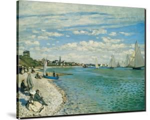 Regatta at Ste-Adresse by Claude Monet