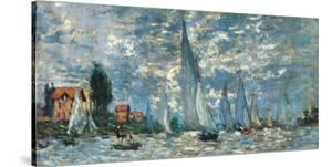 Regatta in Argenteuil by Claude Monet