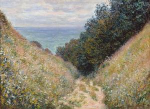 Road at La Cavée, Pourville, 1882 by Claude Monet