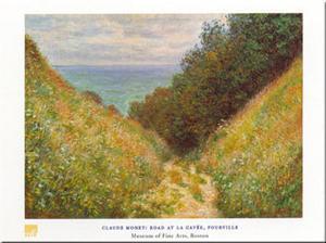 Road At La Cavee by Claude Monet