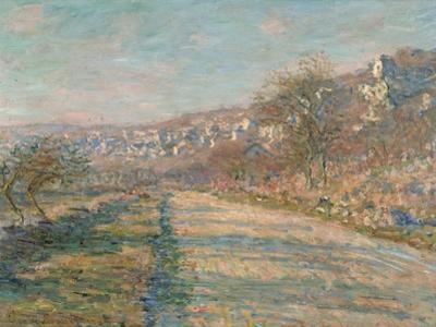 Road of La Roche-Guyon, 1880 by Claude Monet