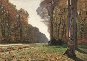 Road to Chailly by Claude Monet