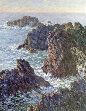 Rock Points at Belle-Ile, c.1886 by Claude Monet