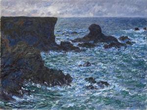 Rocks at Port Coton, the Lion Rock, 1886 by Claude Monet
