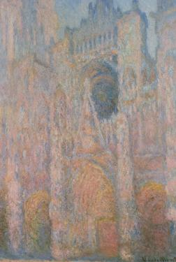 Rouen Cathedral, 1891 by Claude Monet