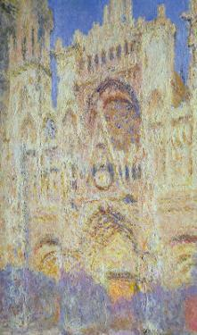 Rouen Cathedral at Sunset, 1894 by Claude Monet
