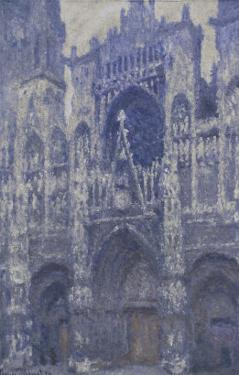Rouen Cathedral, c.1892 by Claude Monet