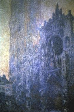 Rouen Cathedral, Early Morning, 1894 by Claude Monet
