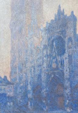 Rouen Cathedral Fa§Ade and Tour D'albane (Morning Effect) by Claude Monet by Claude Monet