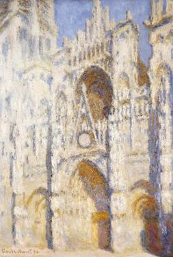 Rouen Cathedral in the Afternoon (The Gate in Full Sun), 1892-94 by Claude Monet