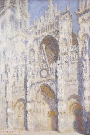 Rouen Cathedral in the Afternoon (The Gate in Full Sun), 1892-94