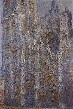 Rouen Cathedral, Noon (Le Portal Et La Tour D'Alban), 1893-1894 by Claude Monet