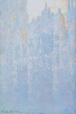 Rouen Cathedral, Portal, Morning Fog, 1892-94 by Claude Monet