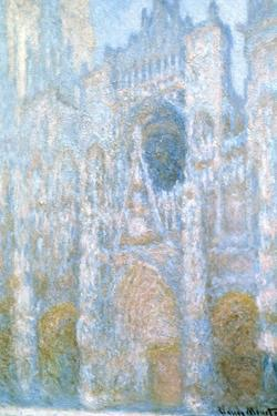 Rouen Cathedral, Sunlight Effect, 1894 by Claude Monet