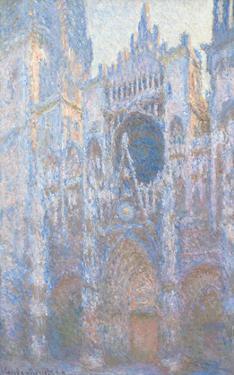 Rouen Cathedral, West Façade, 1894 by Claude Monet