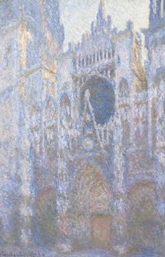 Rouen Cathedral, West Facade, 1894 by Claude Monet